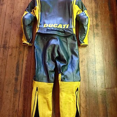 Dianese Ducati Full Suit Back