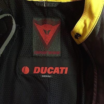 Dianese Ducati Full Suit Tag