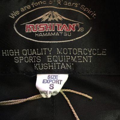 Kushitani Jacket Tag